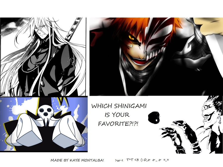 Mine Is Undertakerblackbutleror Ichigobleach By AkihaVermillion