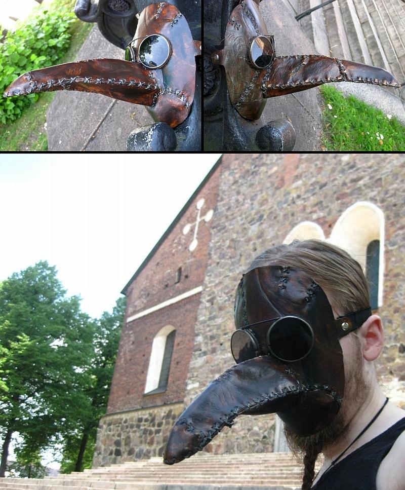 The Plague Doctor by Avaruus