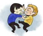 Star trek-Seize Spock's bang