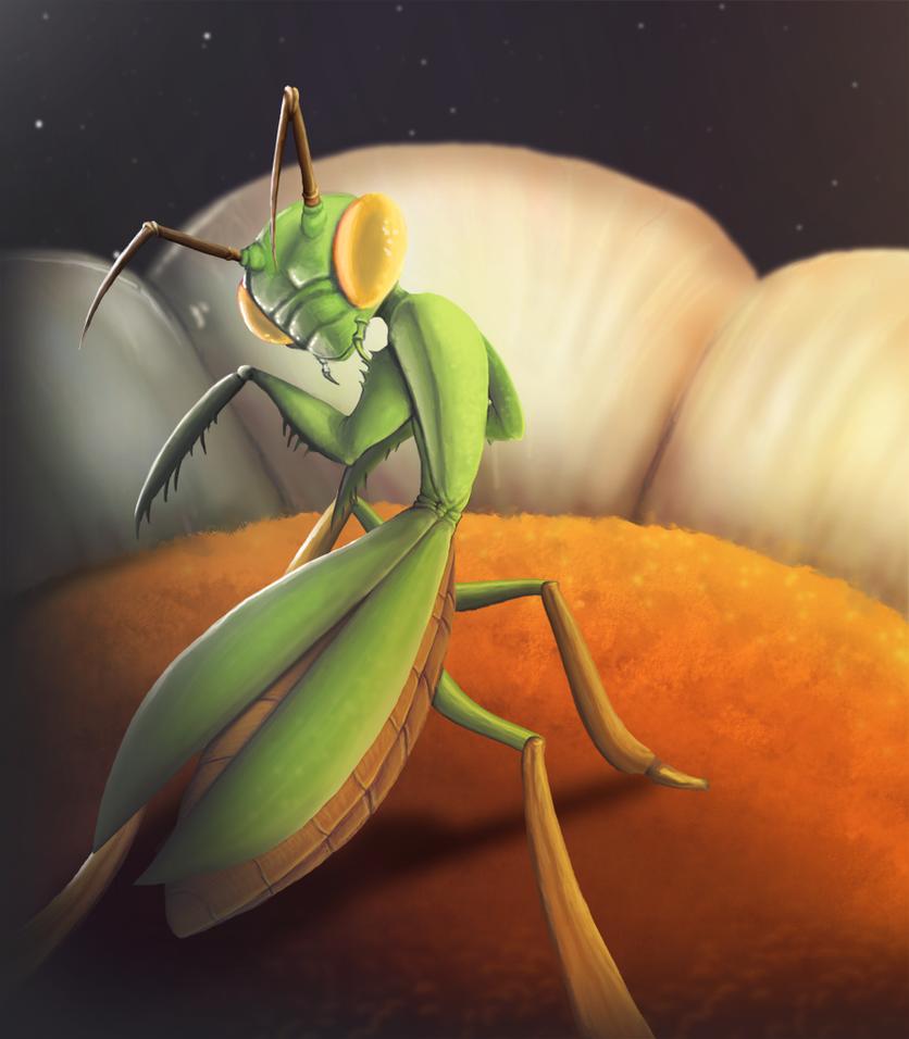 Mantis Revamp by VampireSelene13