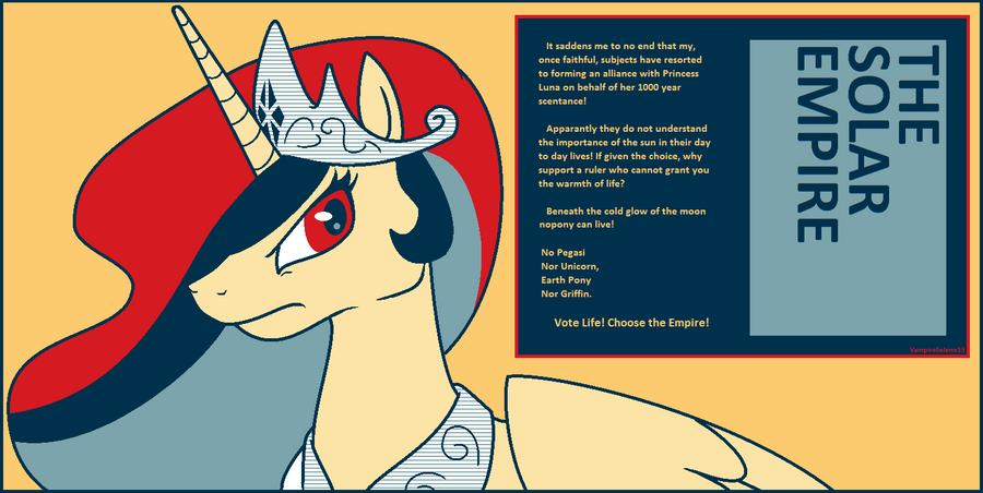 Solar Empire Propaganda by VampireSelene13