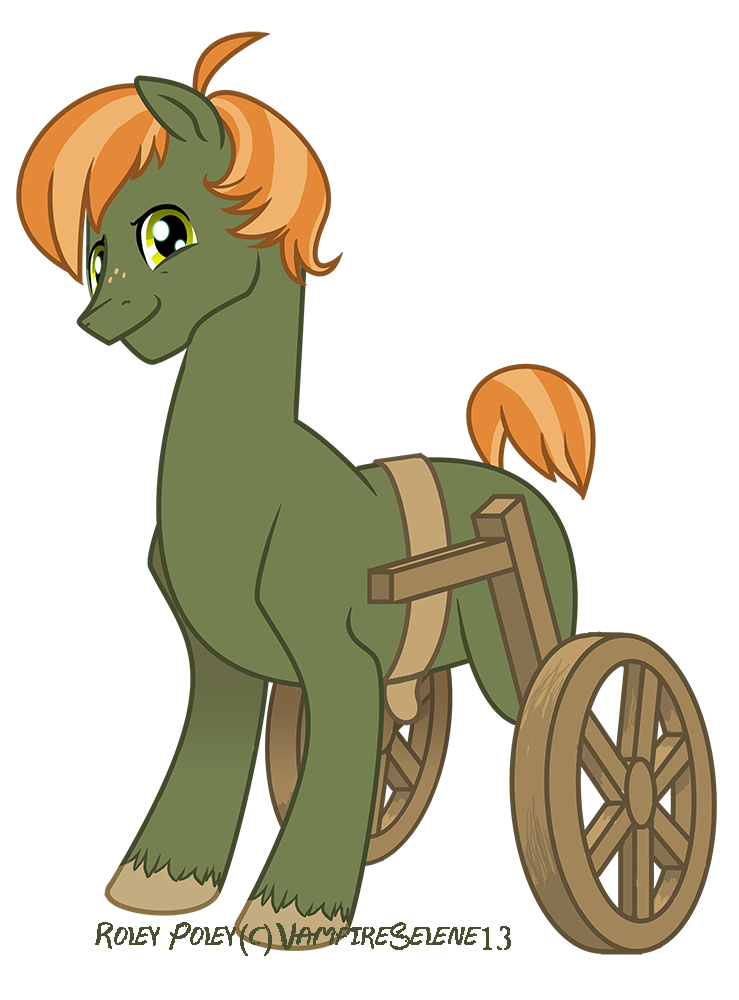 Roley Poley Pony by VampireSelene13