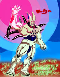 Omega Shenron, Shockwave 2 by qar