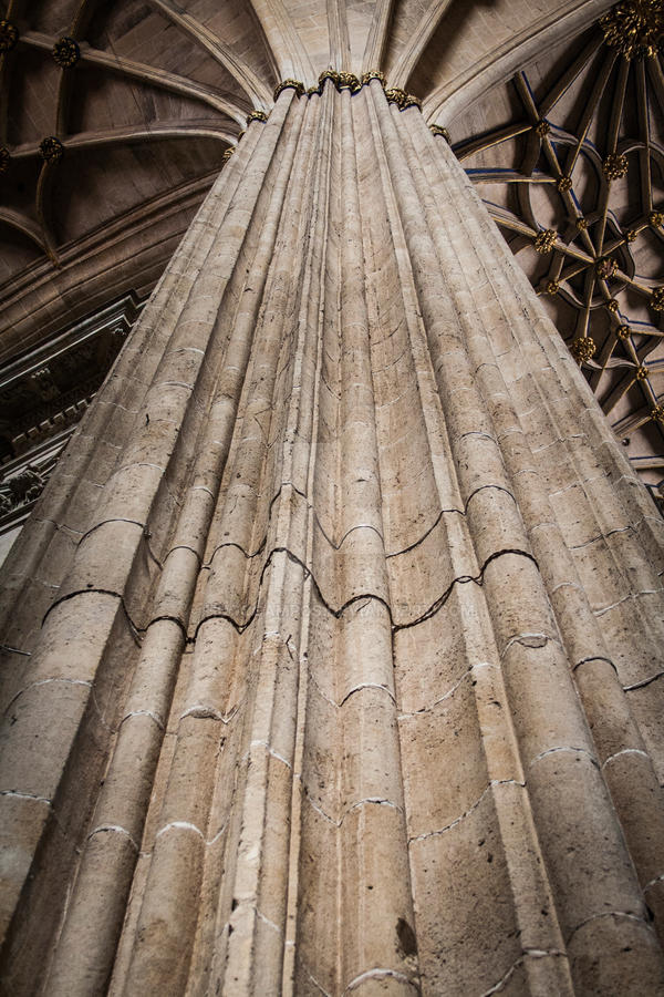 Pillar of the Salamanca Cathedral by HugoCampos