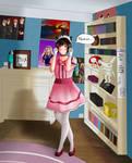 [APH] Japan- 'Weebo af' by Ms-Filou