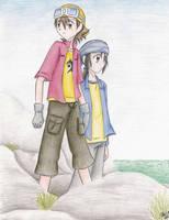 Takuya and Kouji by KatLee112087