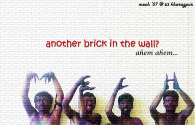 Another Brick in The Wall by TheMonsterMind