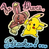 Hi there pikachu by fercatas
