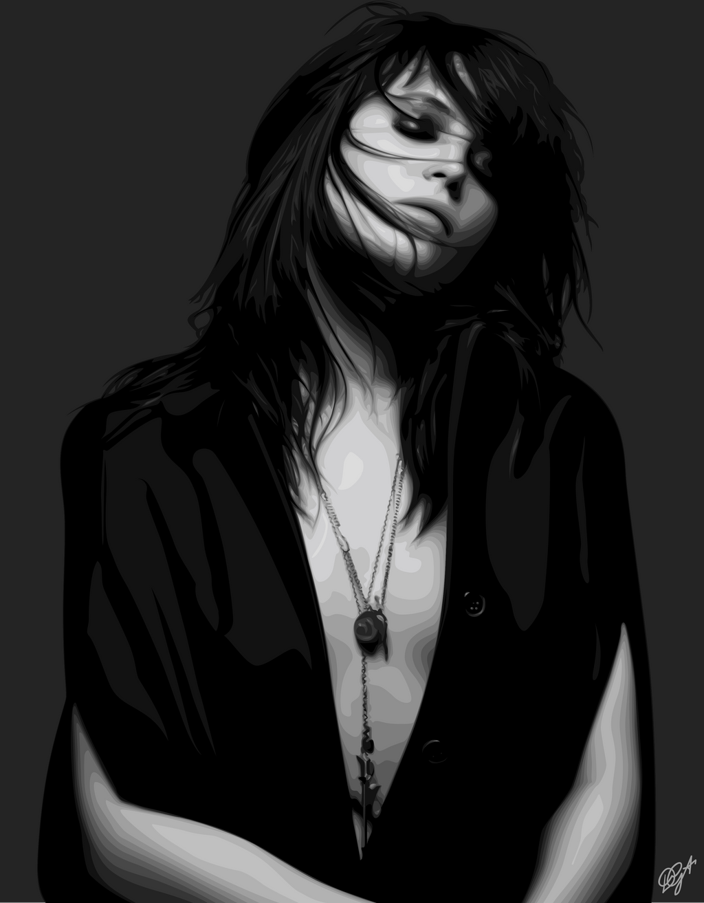 Alison Mosshart Vector by Daphne8