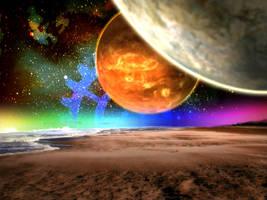 fantasy planet by dem0nice