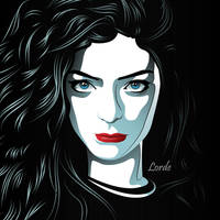 Lorde by dem0nice