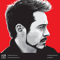 Robert Downey Jr by dem0nice