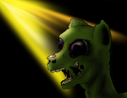 Ghoul Pony by AaronMk