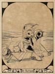 Totentanz und Pferd - Der Hauptmann