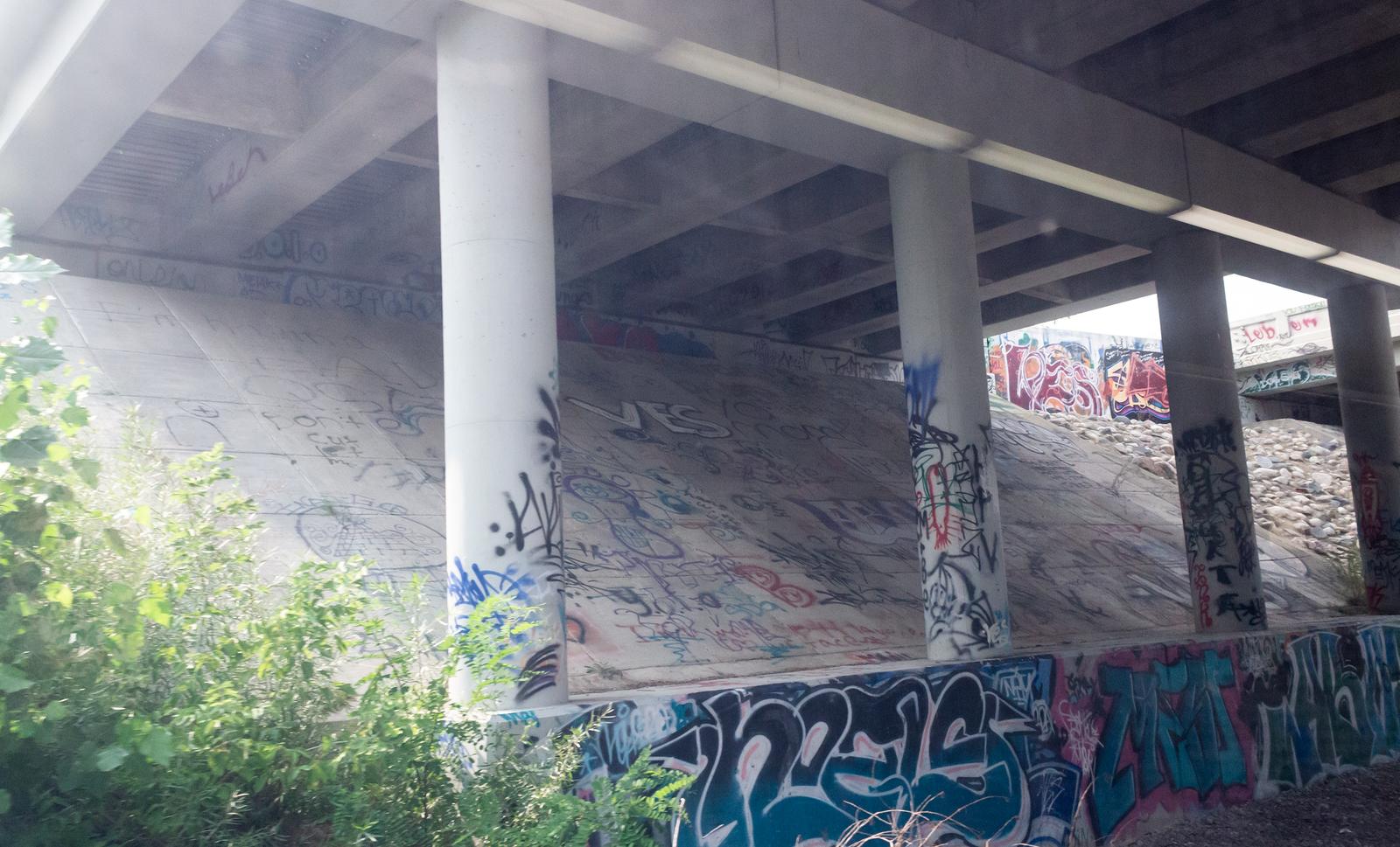 Graffiti Bridge by AaronMk