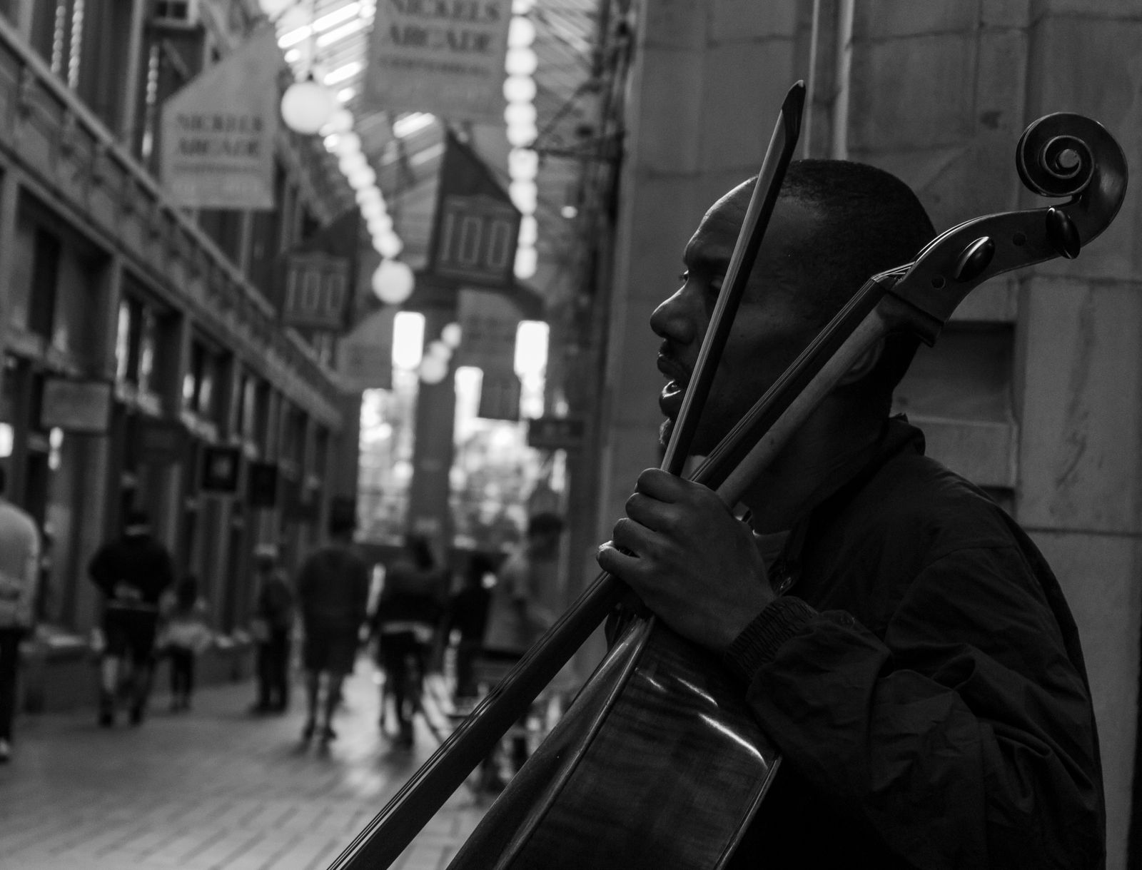 Cello Player by AaronMk