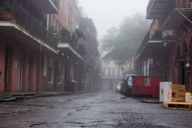 Foggy Street 2 by AaronMk