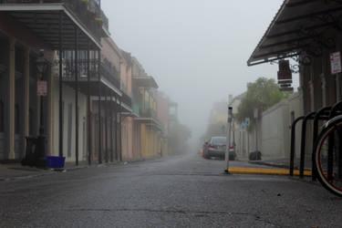 Foggy Street by AaronMk