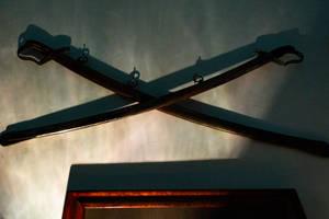 Crossed swords by AaronMk