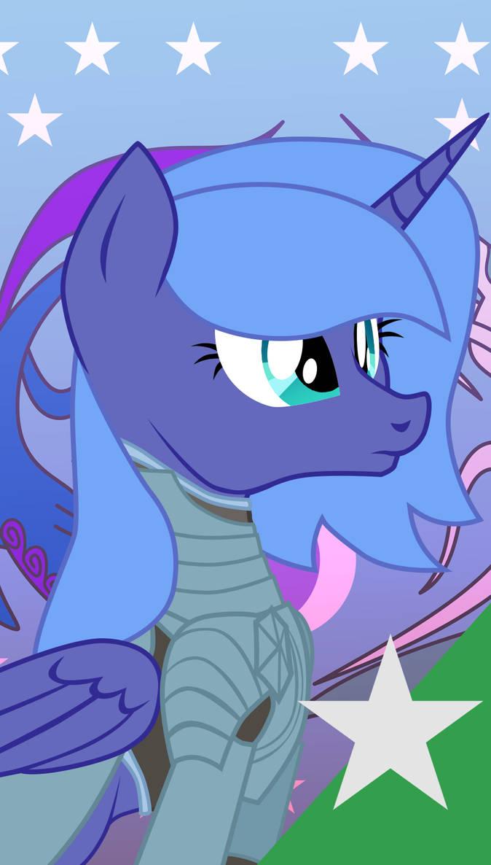FoETW Equestrian Unit Cards - Princess Luna