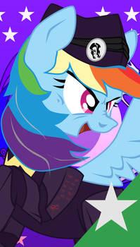 FoETW Equestrian Unit Cards - Hero Rainbow Dash