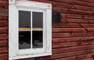 Window Frame to Winter