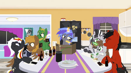 Fallout Equestria Game Night