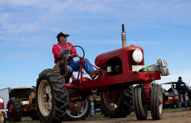 Mario and his Tractor