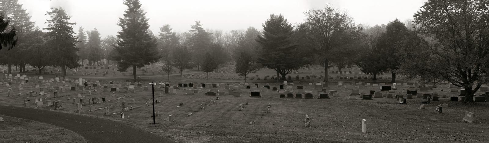 Graveyard Panorama