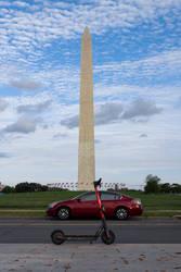 Scooter, Car, Washington