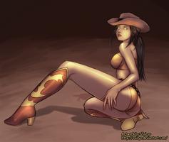 Saki Bomb-playful by Skorna
