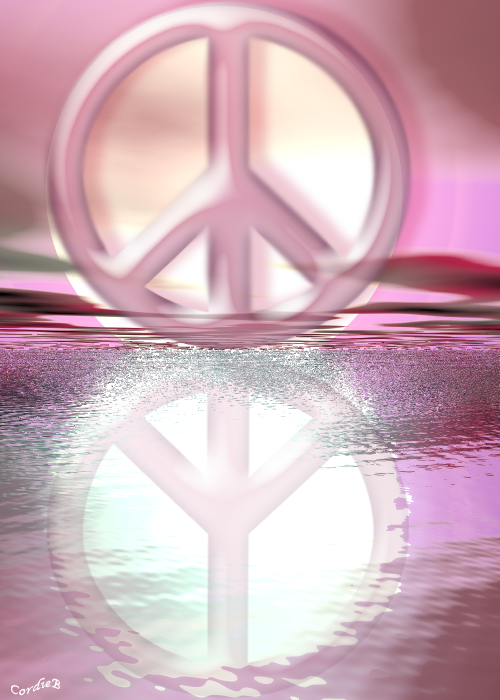Peace Reflects Peace
