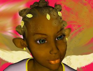 Black Fairy Princess