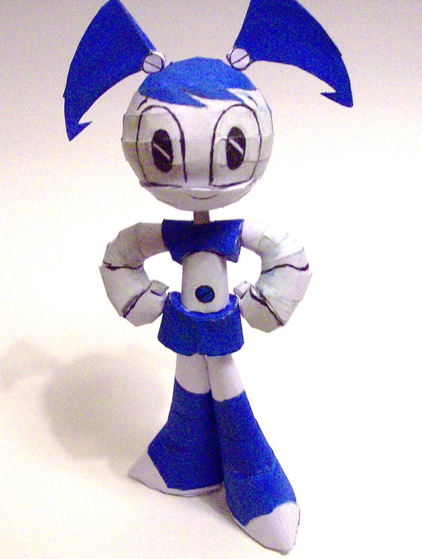 prototype xj-9 papercraft by DRKRT