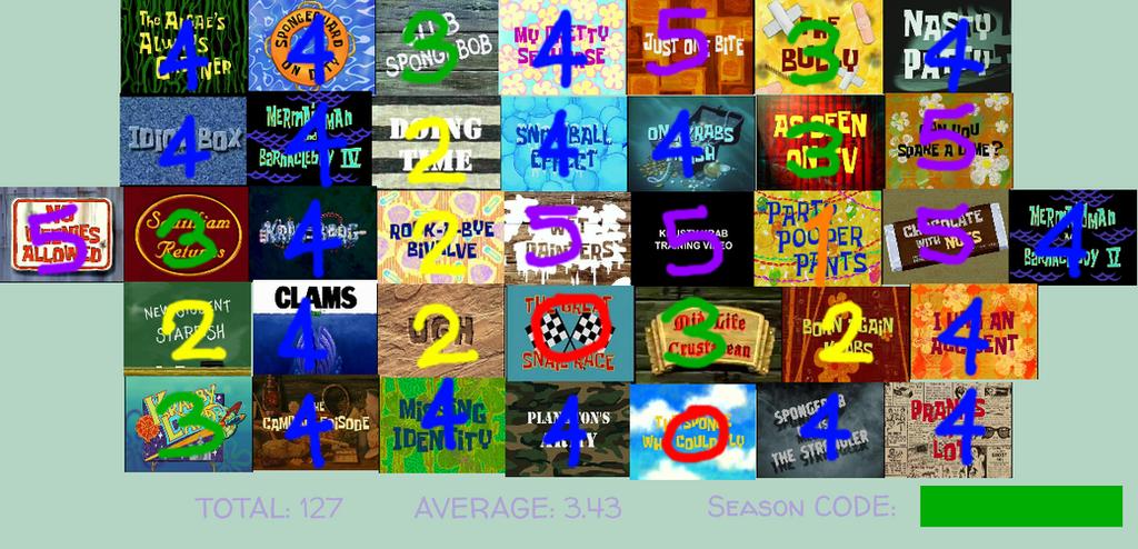 image gallery spongebob season 3