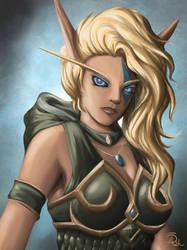 Ranger-Captain Alleria Windrunner by ashtender