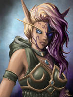 Alleria of the Void by ashtender