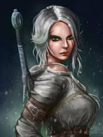 Ciri by ashtender