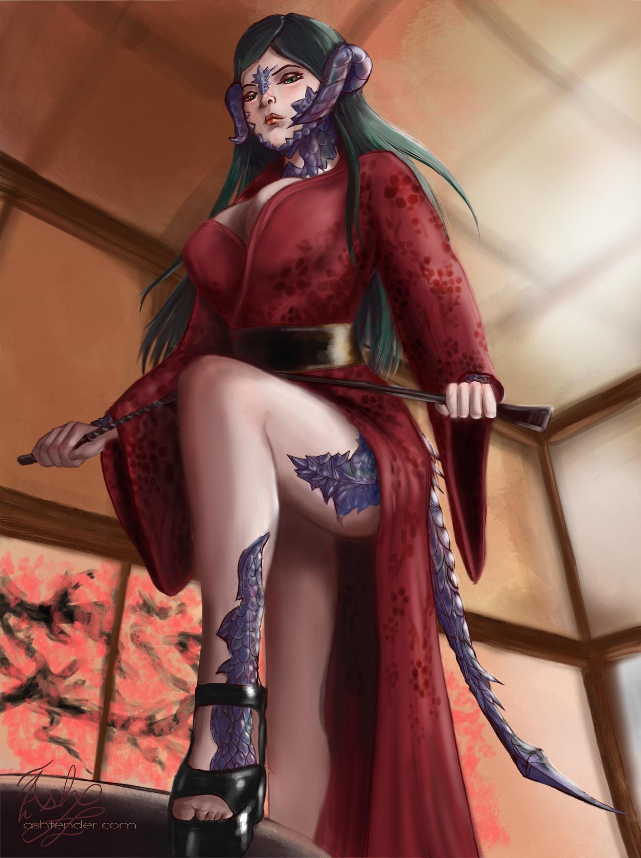 Nyscera (kimono) by ashtender