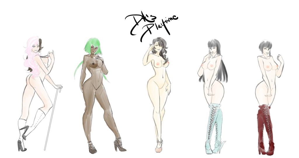 The Cool Five by DarkAngel-Kurai134