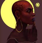Queen Card.