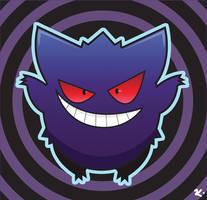 # 094: Gengar by howlingwolf142
