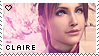 ::Claire Stamp 2:: by ClaireRedfieldStamps