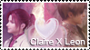 :Claire x Leon Stamp 4: by ClaireRedfieldStamps