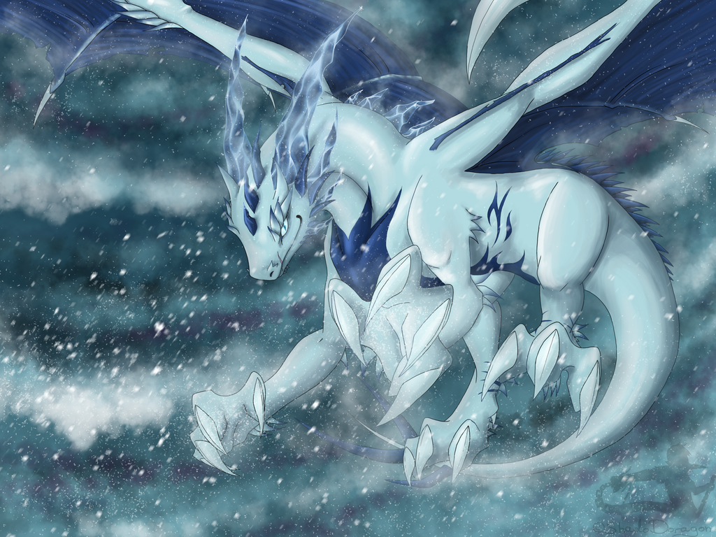 -AT- Frosty wind by ShadoDoragon