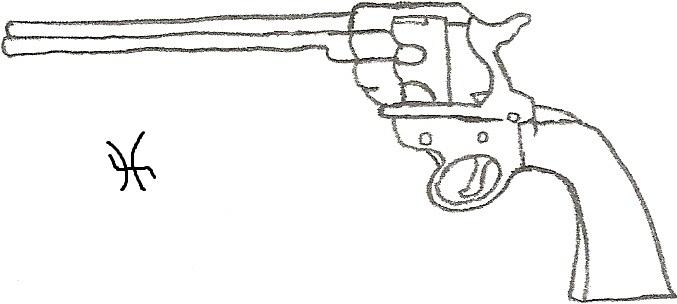 Gun by SallyLynn