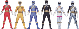 The Wild Force Power Rangers