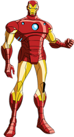 Iron Man (From Avengers Earth's Mightiest Heroes)