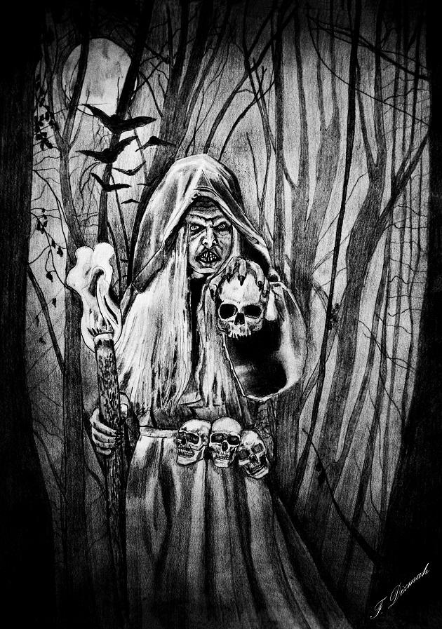 The Necromancer by Dizmah-56