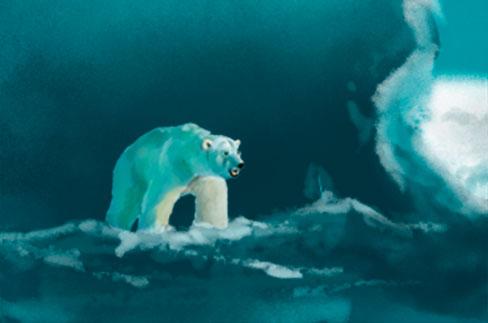 Urso polar by domcabral